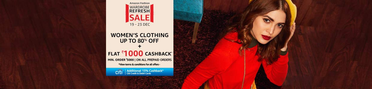 Women's Wardrobe refresh sale