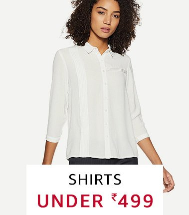 Shirts undr 499