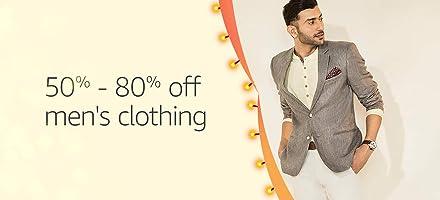 Men's apparel | 50% - 80% off