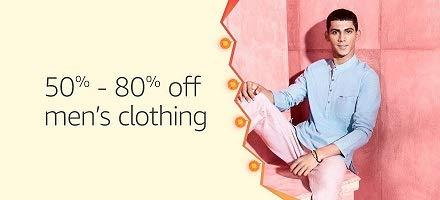 Men's Clothing: 50% - 80% off + Extra 15% cashback