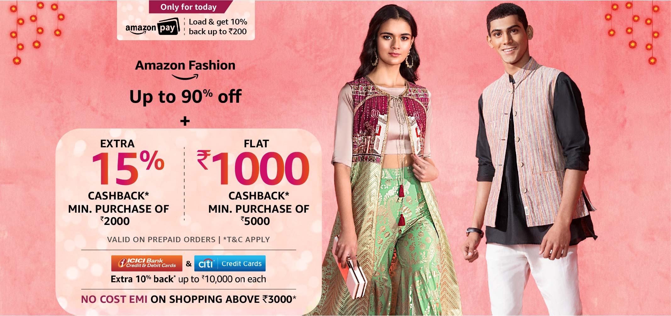 Diwali Celebrations Up to 90% off