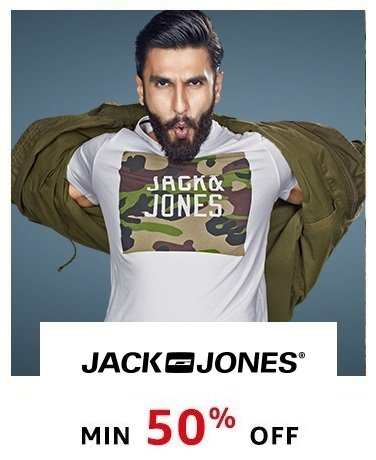 Jack and Jones | Min 50% Off