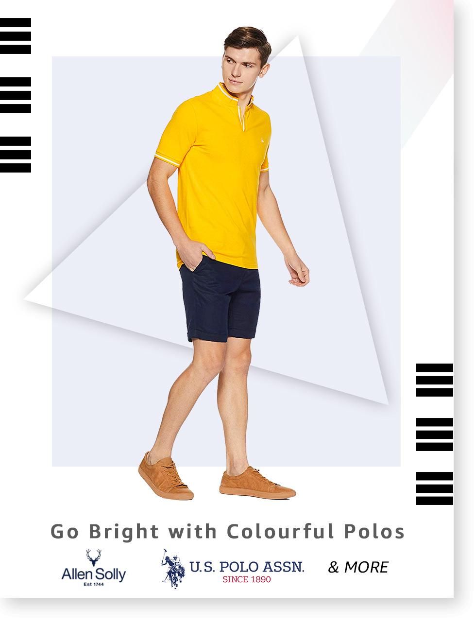 Colour pop Polos