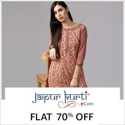 Jaipur Kurti.com Kurties on 705 discounts