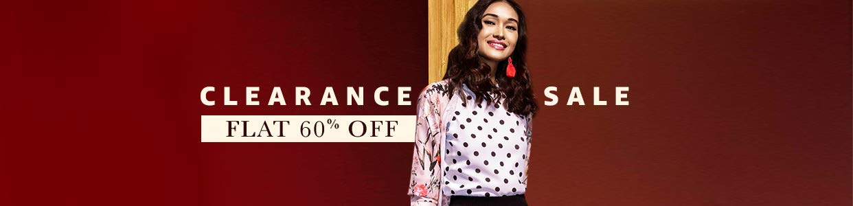 Clearance Sale | Flat 60% Off