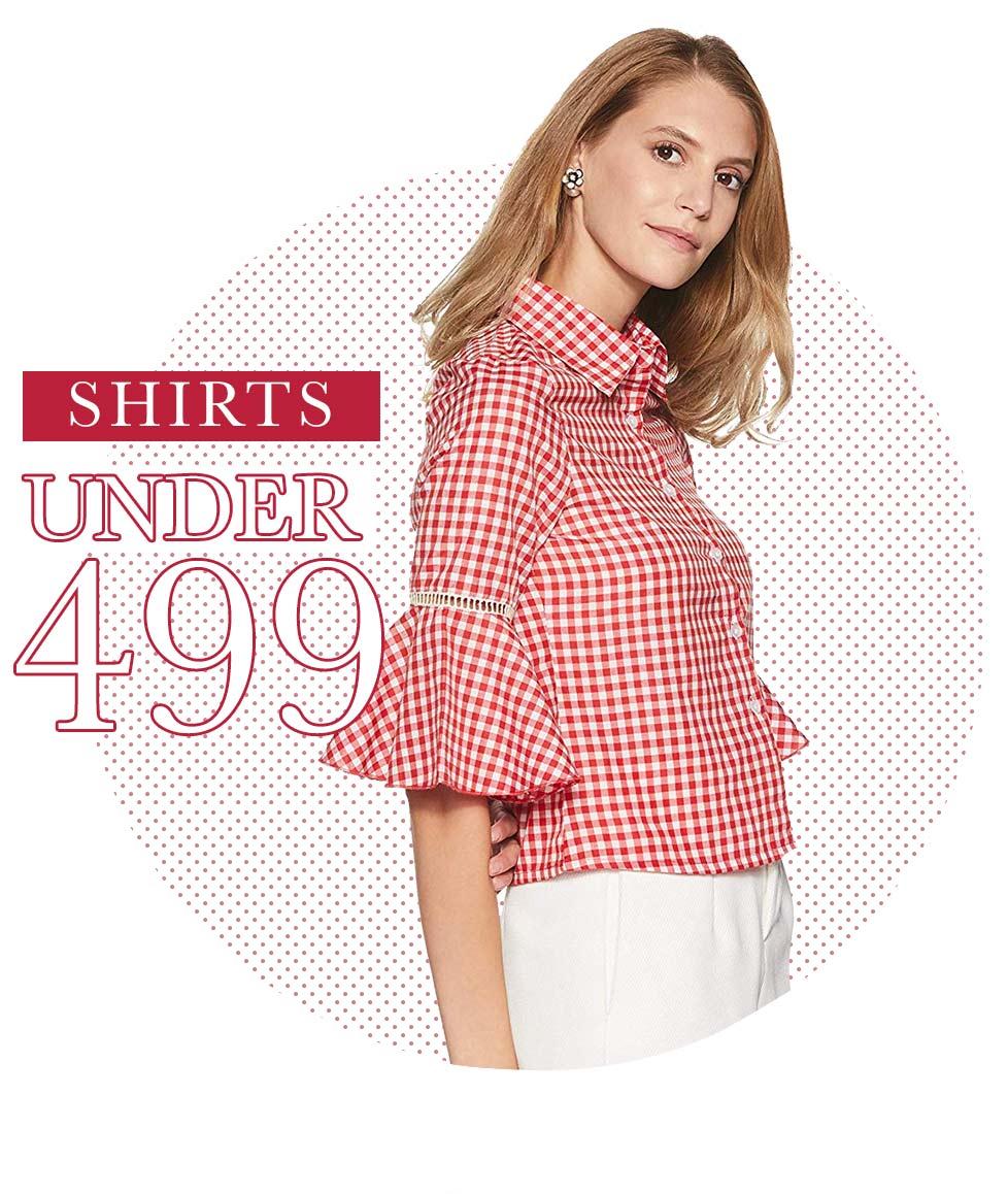 Shirts under ₹499
