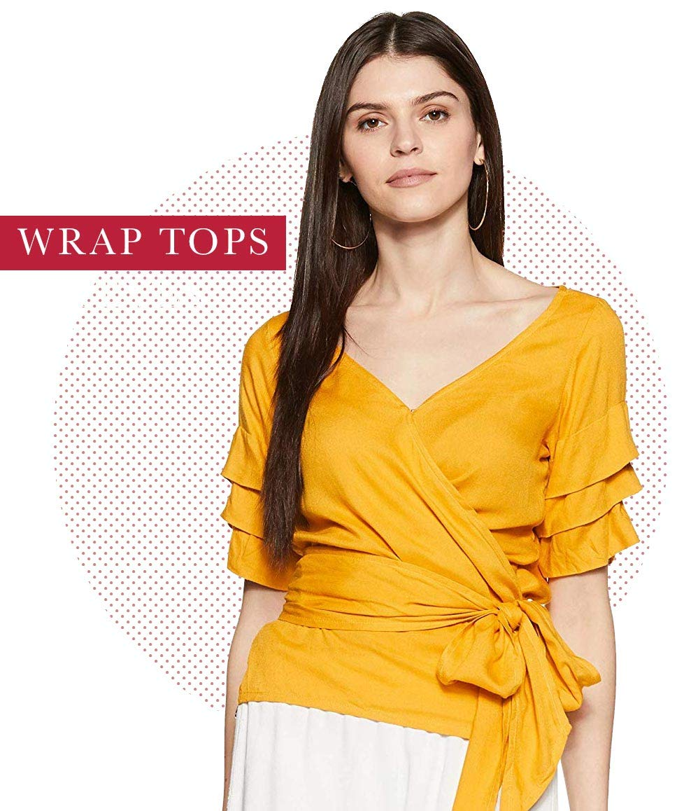 208ca4e64ba Tops For Girls  Buy Ladies Tops online at best prices in India ...