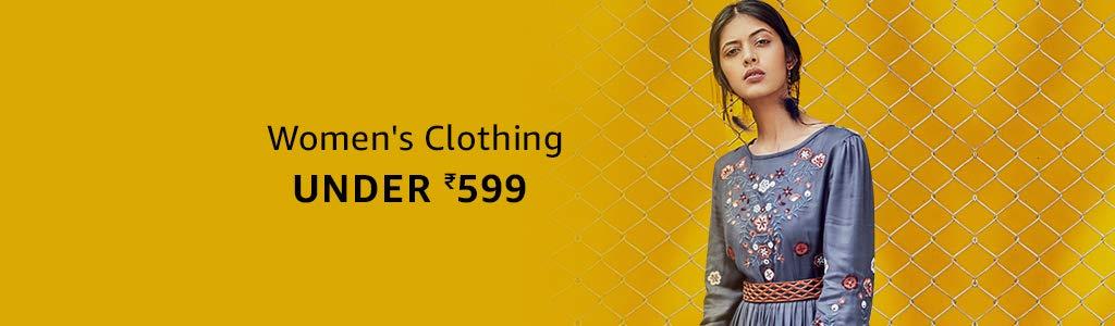 Women's Clothing Under ₹599