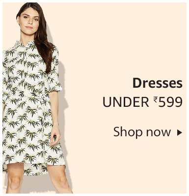 Dresses under Rs. 599