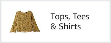 Tops, Tees & Shirts