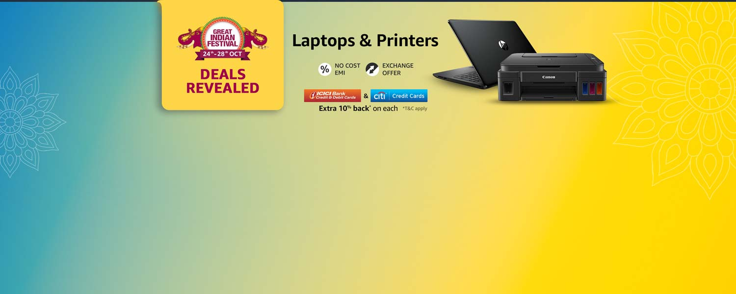 Laptops and Printers Deals Revealed