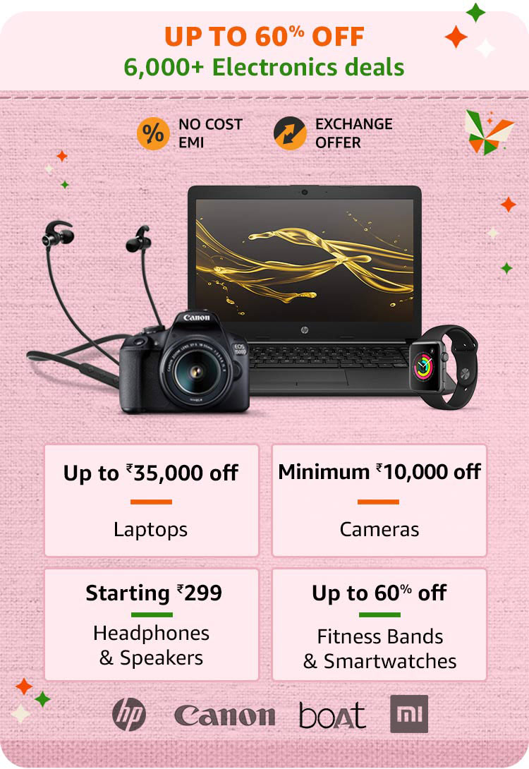 Amazon Great Indian Sale 2020 Offers Dates 90 Off Republic Day