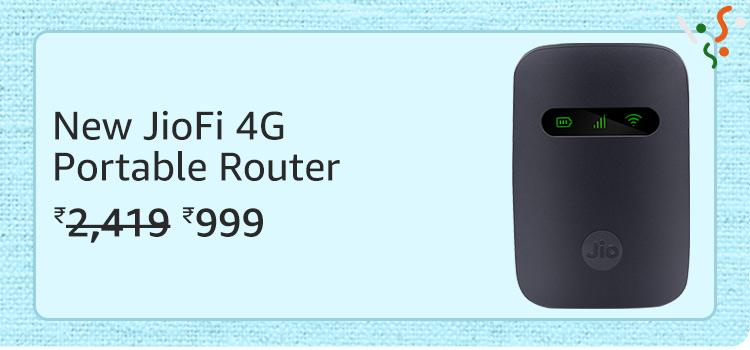 JioFi Portable Router