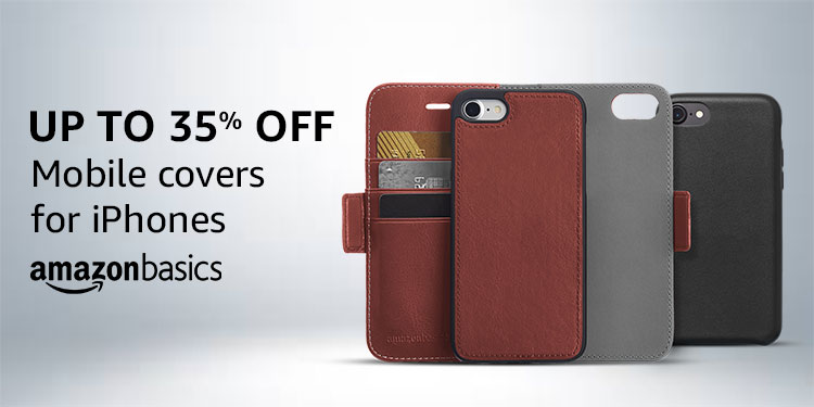 Mobile covers from AmazonBasics