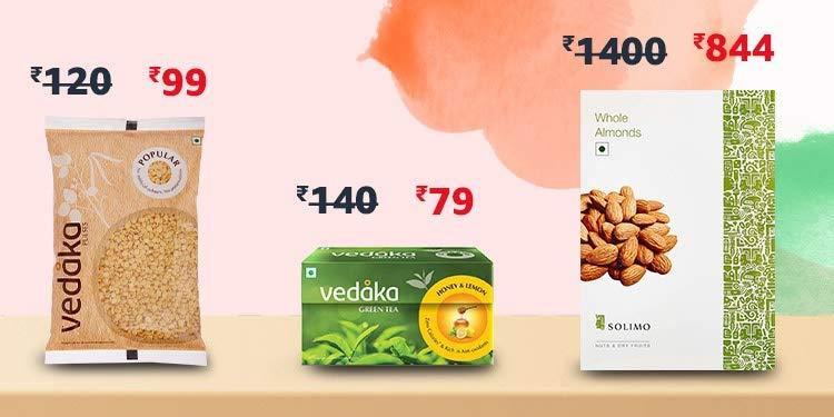 Price slashed: Daily essentials