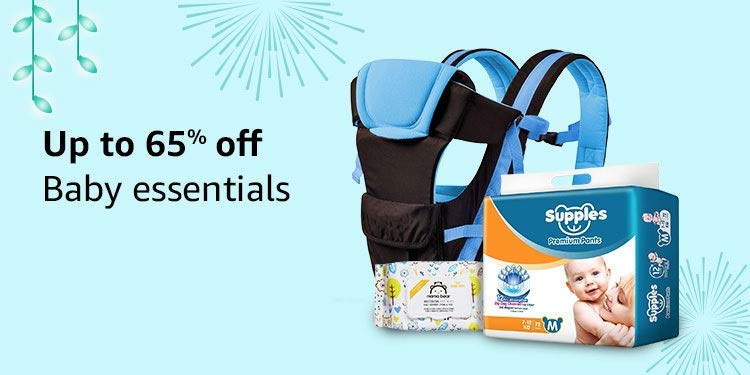 Up to 65% off | Baby essentials