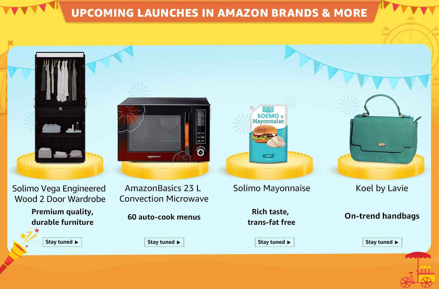 Amazon Brand launches