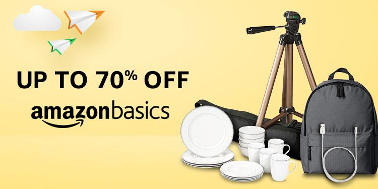 Up to 70% off - AmazonBasics
