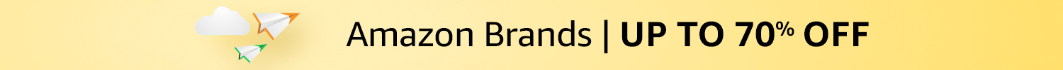 Amazon Brands | Up to 70% off