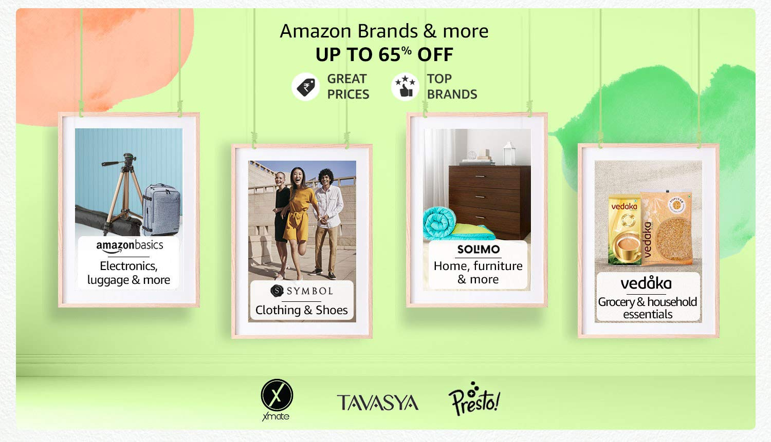 Up to 65% off | Amazon Brands & more