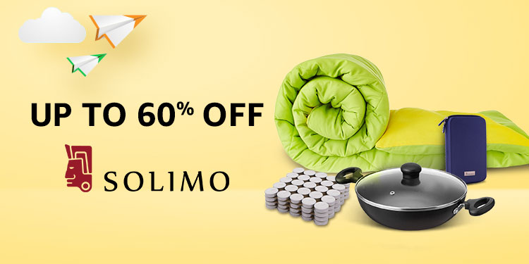 Up to 60% off - Solimo