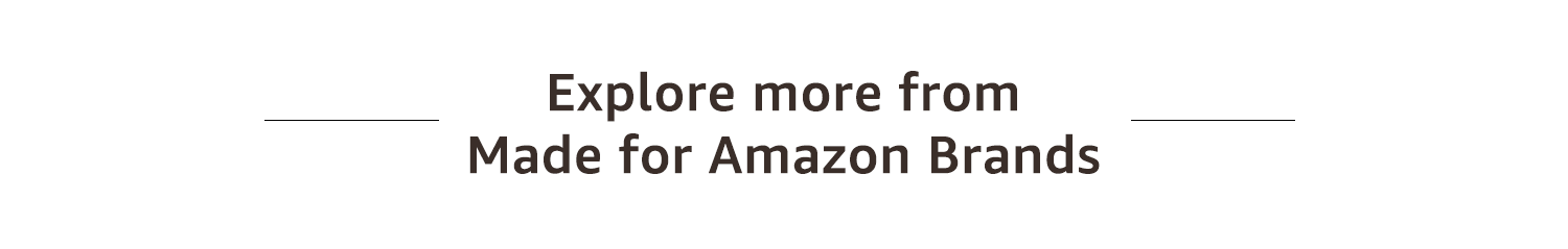 Made for Amazon Brands