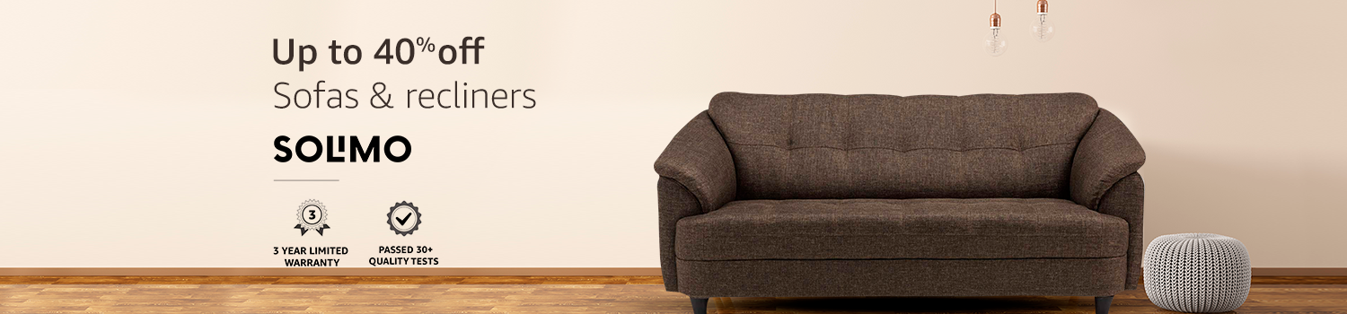 Solimo Sofas & Recliners