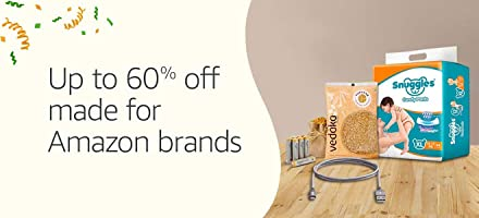 Made for Amazon brands- Up to 60% off