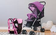 Carriers, strollers & more