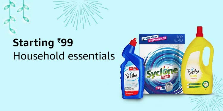 Starting ₹99 | Household essentials