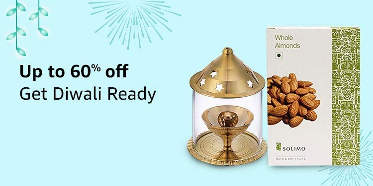 Up to 60% off | Get Diwali Ready
