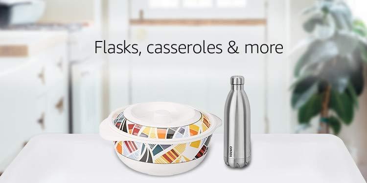 Flasks, casseroles & more