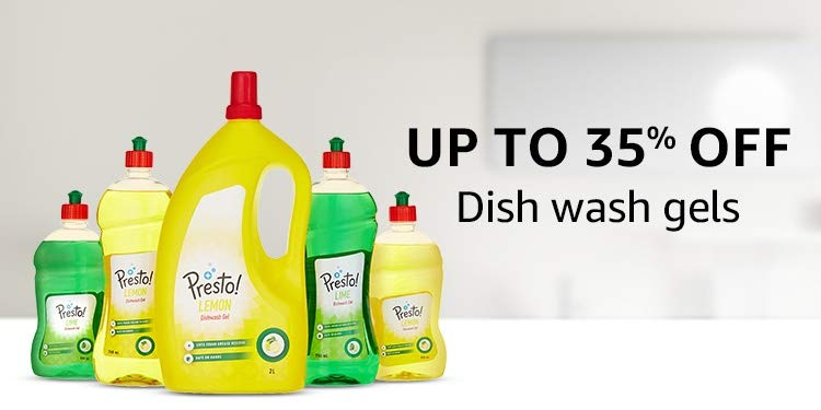 Up to 35% off: Dish wash gels
