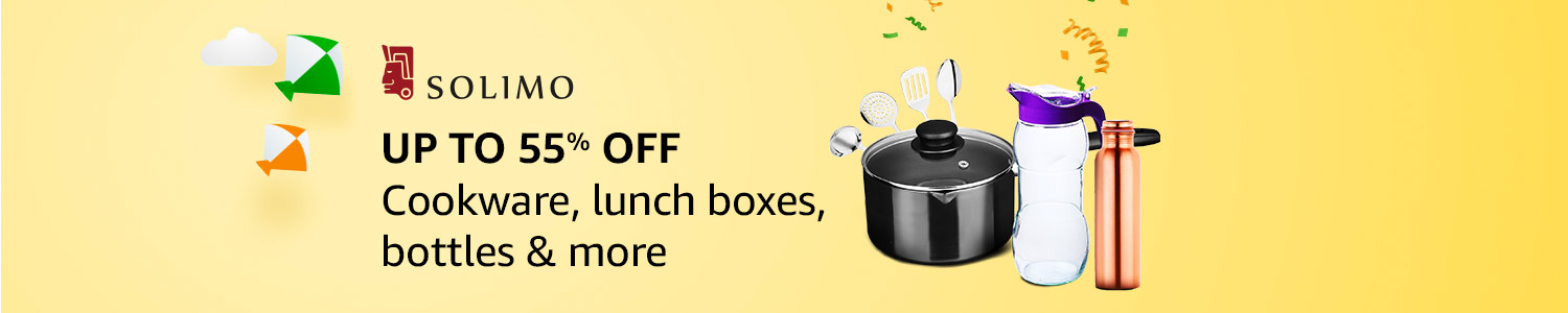 Up to 55% off: Kitchen essentials from Solimo