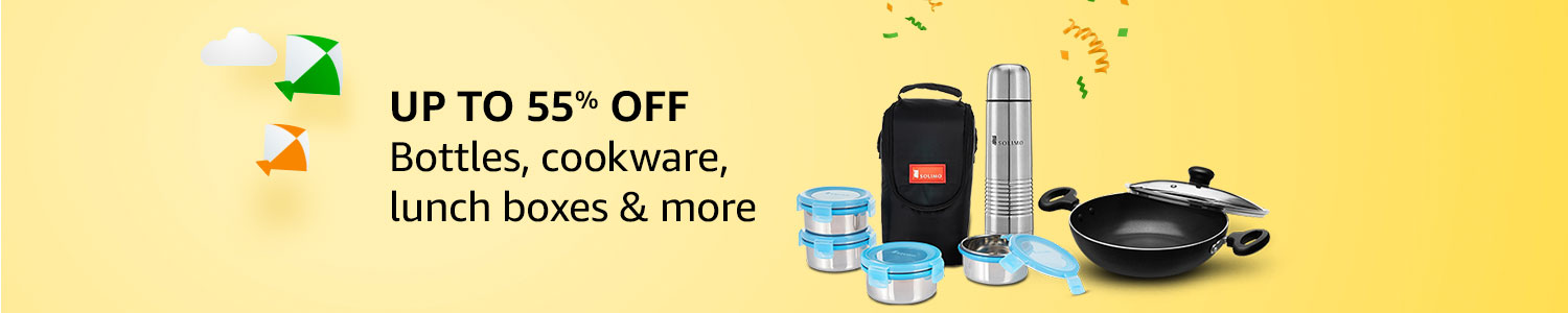 Up to 55% off: Cookware, lunch boxes, bottles & more