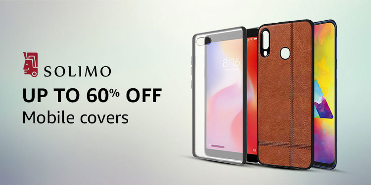 Mobile covers from Solimo
