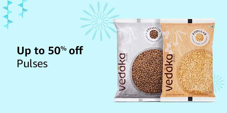 Up to 50% off: Pulses