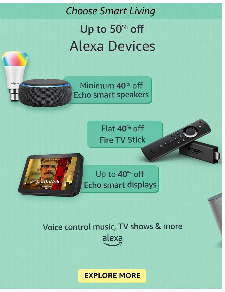 Alexa Devices - Up to 50% OFF