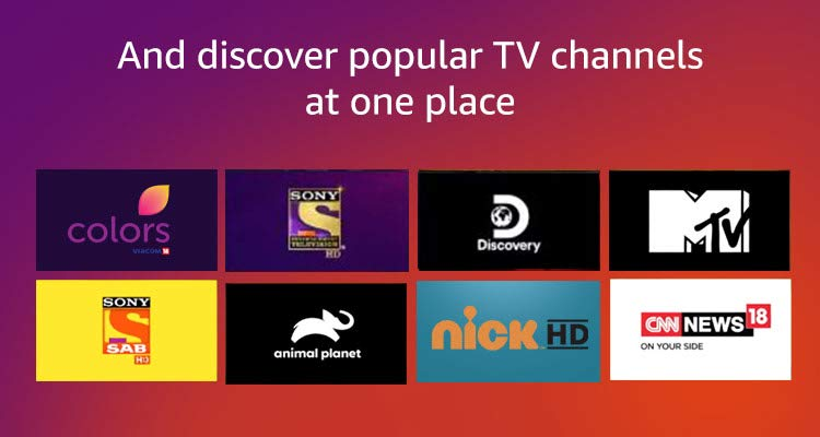 Discover popular TV channels at one place