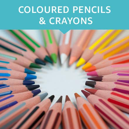 Coloured pencils & crayons