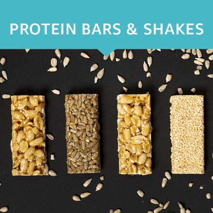 Protein bars & shakes