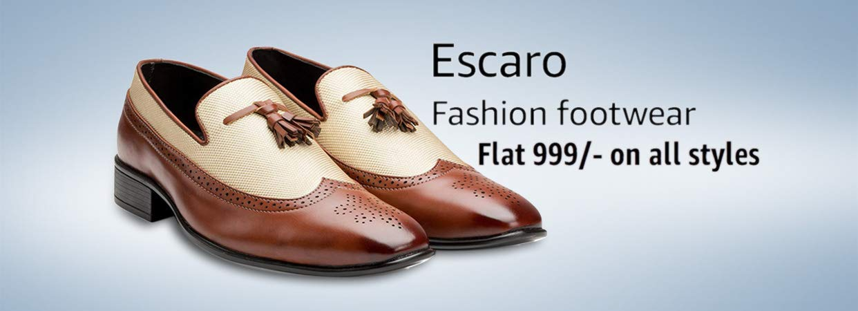 Escaro fashion footwear