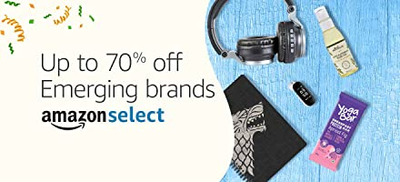 Up to 60% off: Emerging brands | Amazon Select