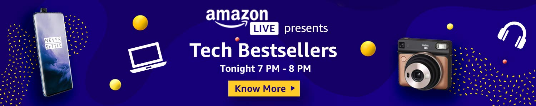 Tech Bestseller Amazon Live