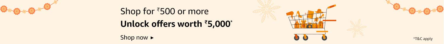 Amazon Pay Shopping Offer: 5000 on 500