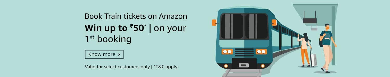 Train tickets on Amazon