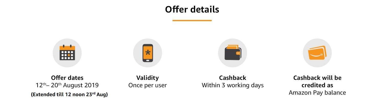 Offer details