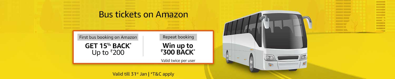 Book bus on Amazon