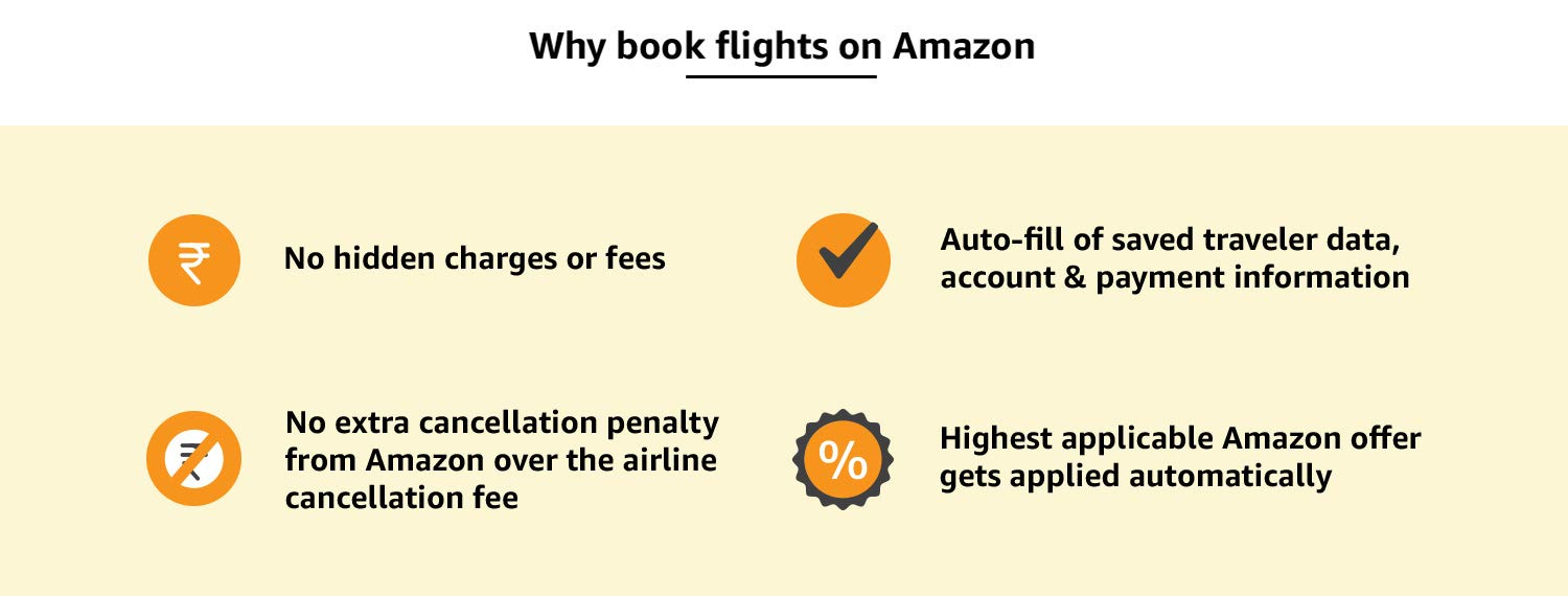 Why book flights on Amazon