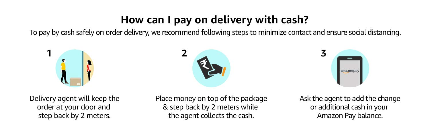 How can I pay on delivery with cash?
